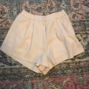 Lush boutique shorts pale pink